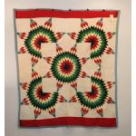 Native American Tribal Patchwork Quilt