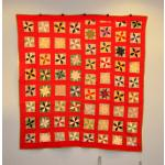 Antique 8-Pointed Circus Star Quilt